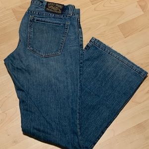 """Lucky Brand Dungarees """"Too Tough to Die"""" SZ 12/31"""